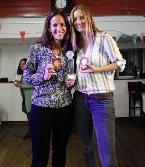 Ladies Doubles Winners 2017