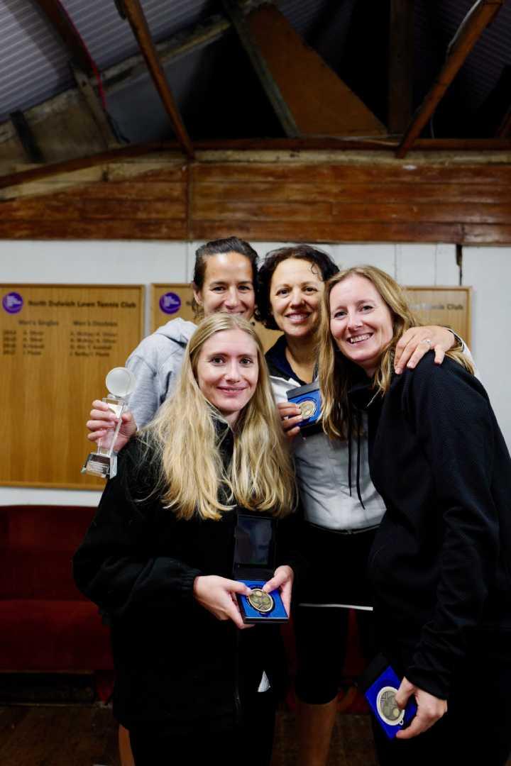Ladies Doubles Winners 2018